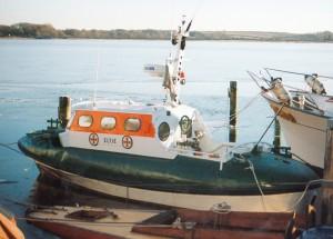 SRB Eltje (II) in Schleswig, Winter 1997.