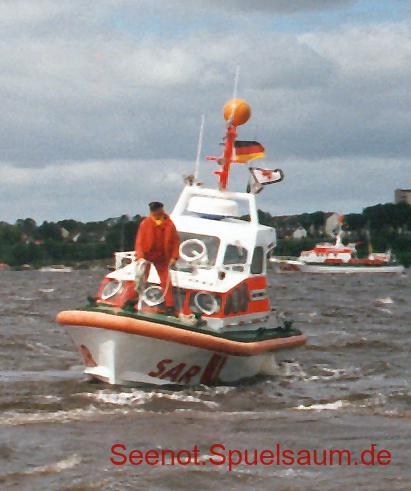 SRB Asmus Bremer, Elbe 1989.