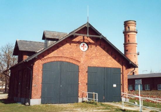 Ehemaliger Rettungsshuppen Travemünde,2001.