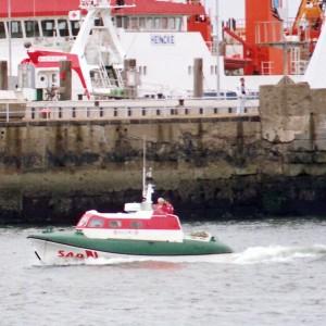 Tochterboot Helene Cuxhaven, 1980er.