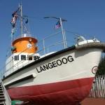 Museumsschiff auf Langeoog