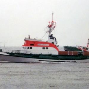 SRK Arwed Emminghaus in Cuxhaven, 1980er.