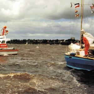 SRB Asmus Bremer, Hamburg, Sail 1989.