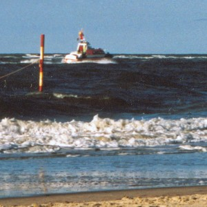 SRB Baltrum vor Baltrum, 2002 ca.