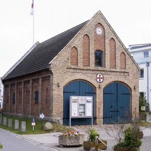 Ehem. Rettungsschuppen Zingst, 2002.