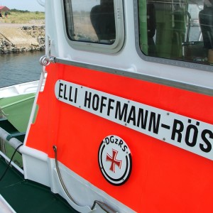 SRB Elli Hoffmann-Röser auf Baltrum, 2005.