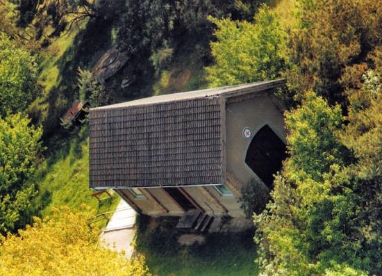 Ehemaliger Rettungsschuppen Darsser Ort, am Leuchtturm - 2002.