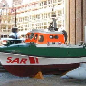 Umma (ex Grietje) im Intern. Maritimen Museum, Hamburg, 2009.
