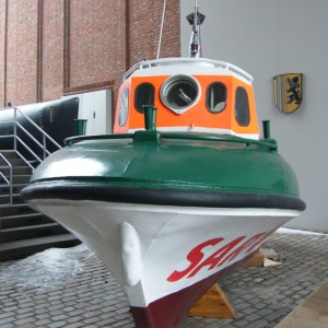 Umma (ex Grietje) im Intern. Maritimen Museum, Hamburg, 2010.