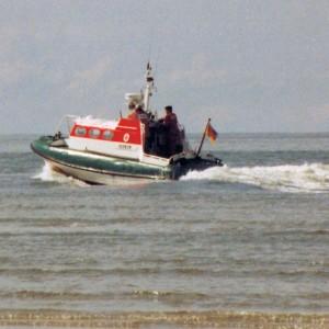 SRB Hoernum zwischen Sylt und Amrum 1995.