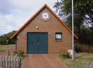 Rettungsschuppen Wangerooge, 2003.