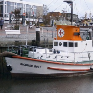 Rickmer Bock, Museumshafen Büsum 2004