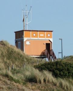 ehemalige Seenotbeobachtungsstelle Langeooger Dünen, 2006