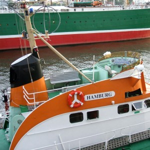 SRK Hamburg Hafengeburtstag 2007 - Aufbau..
