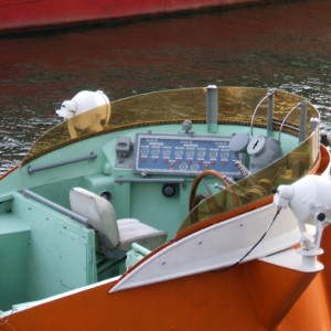 SRK Hamburg Hafengeburtstag 2007 - oberer Fahrstand.