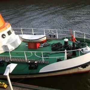 SRK Hamburg Hafengeburtstag 2007 - vorderes Deck.