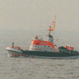 SRK Otto Schülke vor Norderney, 1996.