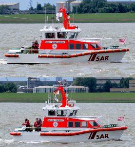 10.1m und 9.5m Seenotrettungsboot im Vergleich