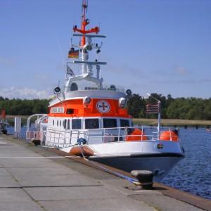 SRK Vormann Jantzen im Schutzhafen Darßer Ort, 2002.