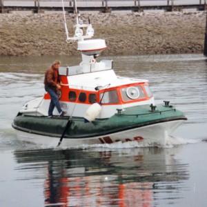 SRB Wilhelm Hübotter im Wangerooger Hafen, 1995 ca.rooge-1x1000