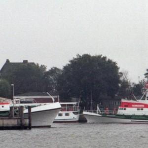 SRK Wilhelm Kaisen + SRK Arwed Emminghaus in Cuxhaven, 1980er.