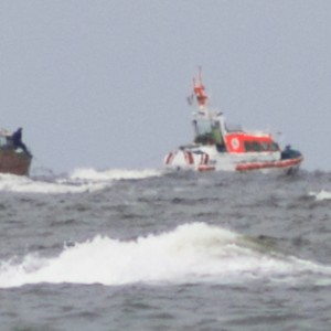 SRB Franz Stapelfeldt, Einsatz vor Wangerooge 2011.