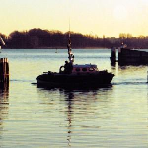 SRB Kaatje II in Fahrt Maasholm -1 995.