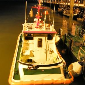 SRB Wilma Sikorski, Wangerooge, Nacht, 2008.