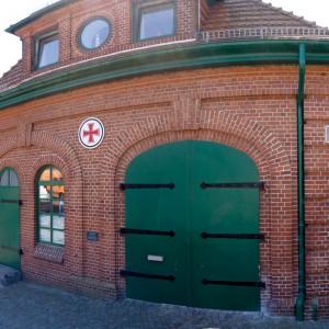 Rettungsschuppen Maasholm, 2015.
