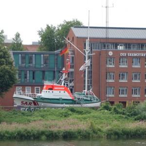 Seenotretter Zentrale an der Weser 2015.