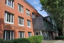 Seenotretter Zentrale in Bremen an der Werderstrasse.